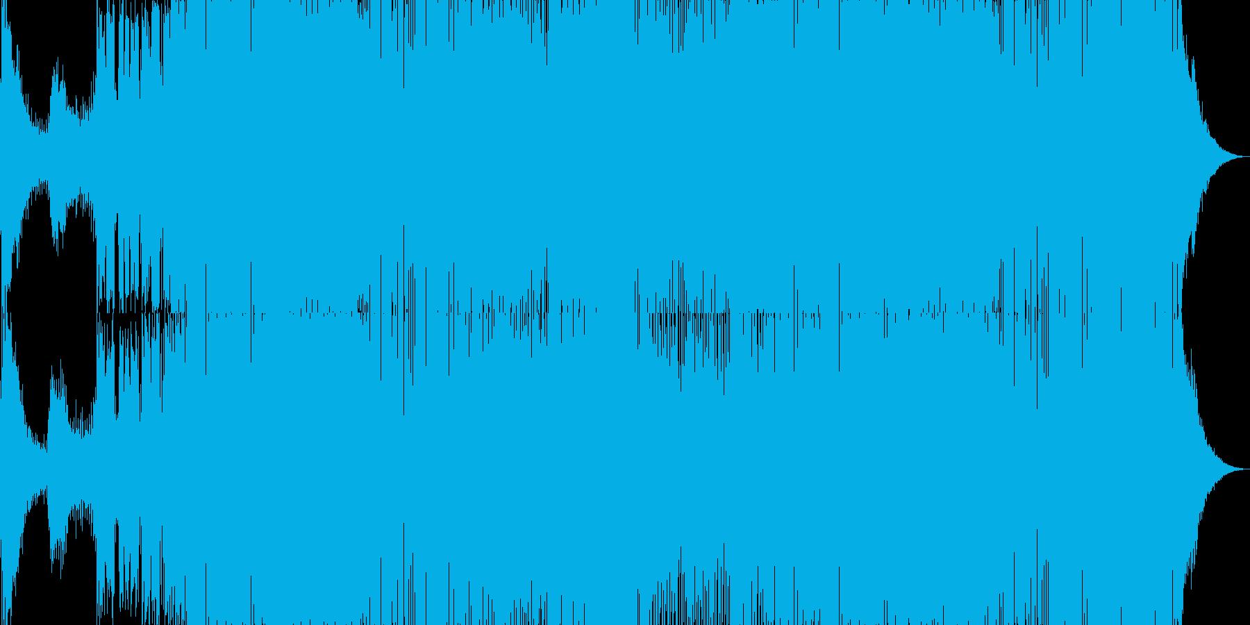 ディスコのイントロはほぼ1分10秒...の再生済みの波形