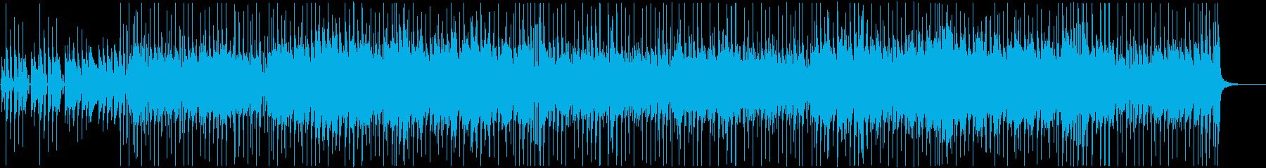 コミカル エンドロール 陽気 ほのぼのの再生済みの波形