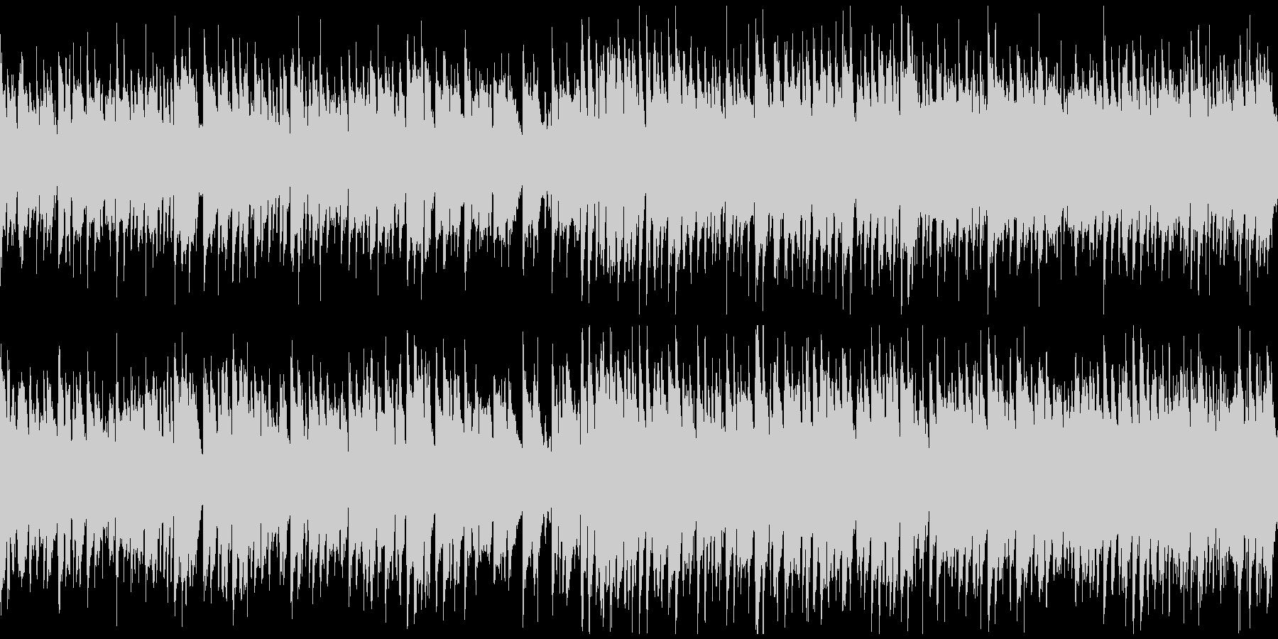 わくわく楽しいリコーダー、青春※ループの未再生の波形