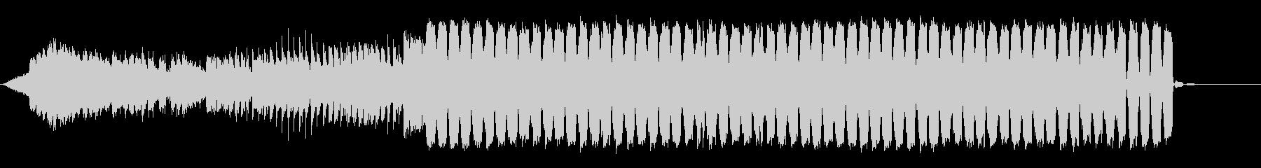 ハッピーエンドなフューチャーポップの未再生の波形