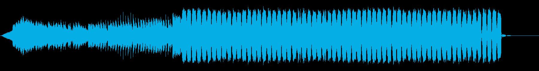 ハッピーエンドなフューチャーポップの再生済みの波形