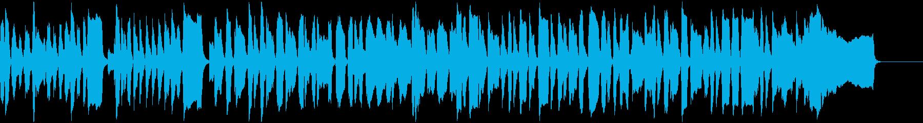 コミカルで勇敢なリコーダーエンディングの再生済みの波形