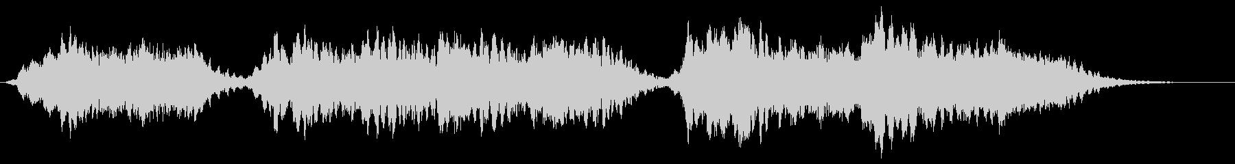 背景音 サスペンス 2の未再生の波形