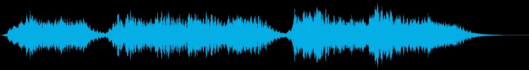 背景音 サスペンス 2の再生済みの波形