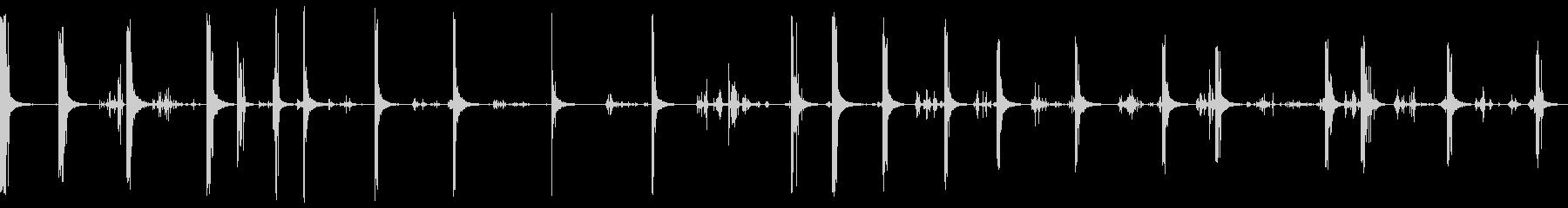チェーンメタルドロップ大きな部屋cの未再生の波形