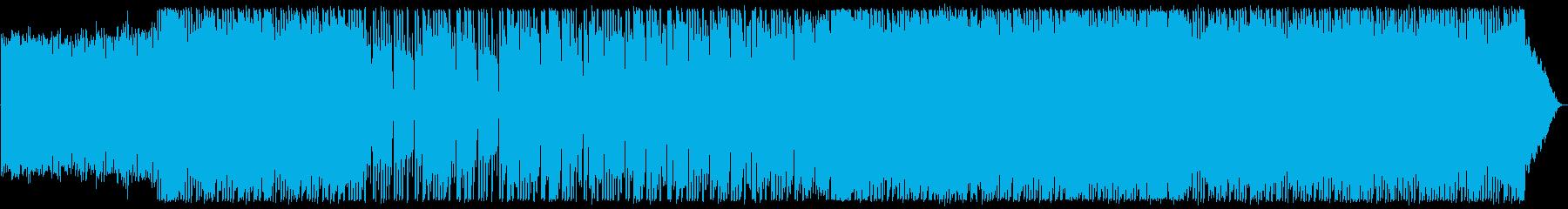 現代のポップロック。高騰ポジティブ...の再生済みの波形
