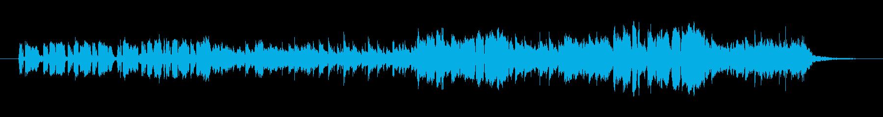 開拓地のbgmの再生済みの波形