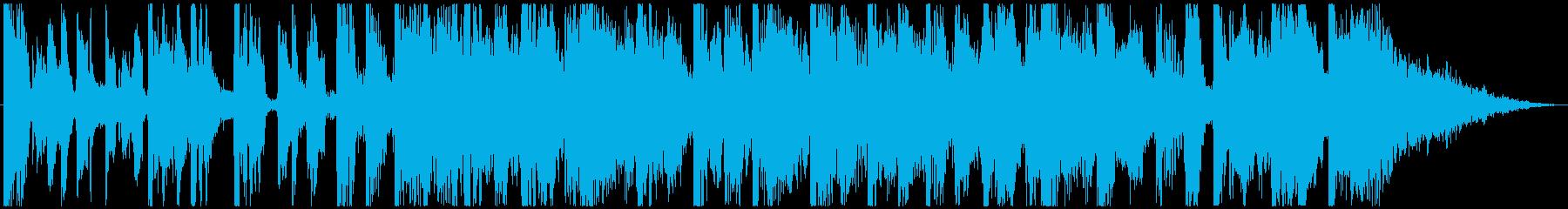【ボーカルなし】楽しいファンクの再生済みの波形