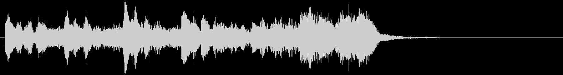 のほほんジングル023_わくわくの未再生の波形