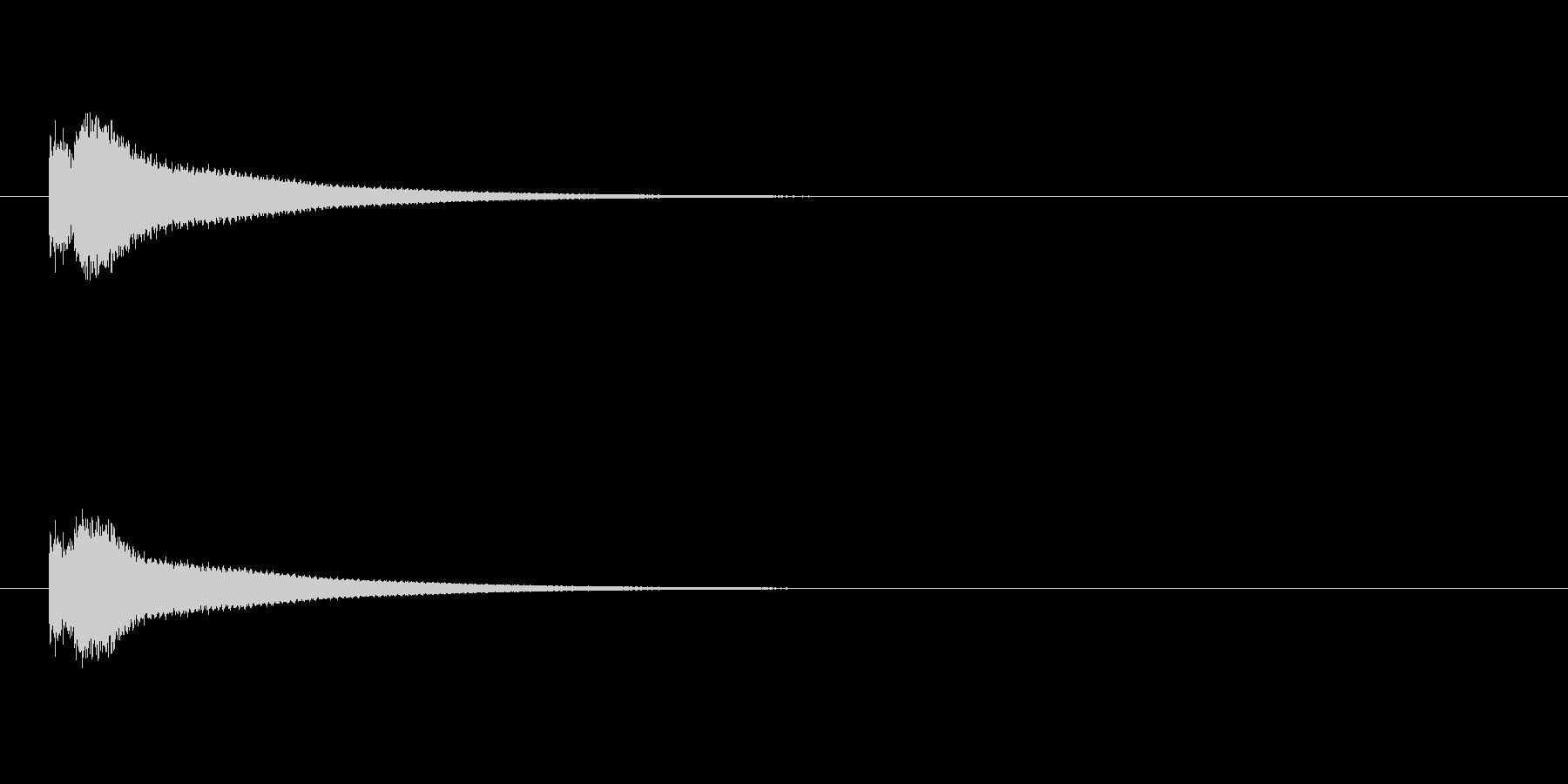 カーン(鐘の音/教会の鐘/時報)の未再生の波形