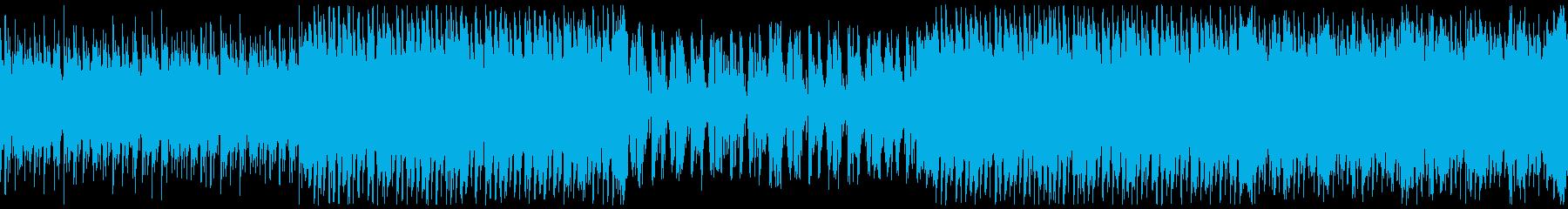 夏の海・イベント・楽しいレゲエ・ループの再生済みの波形
