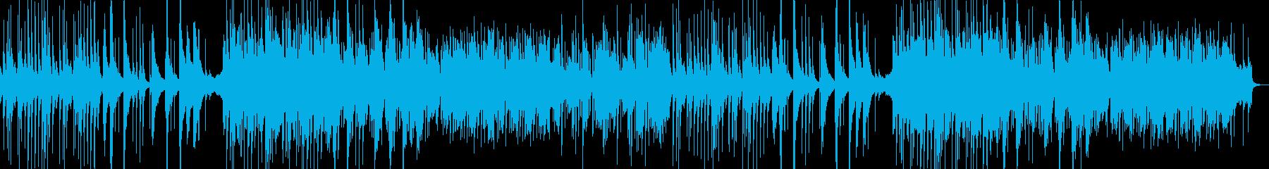 琴と和楽器 静かな和風BGMの再生済みの波形