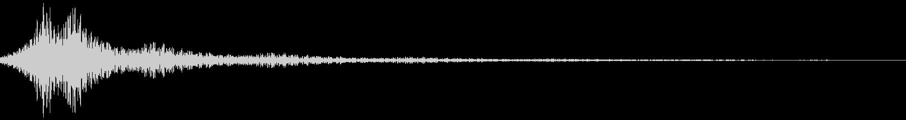 Tune (Metal passing sound)'s unreproduced waveform