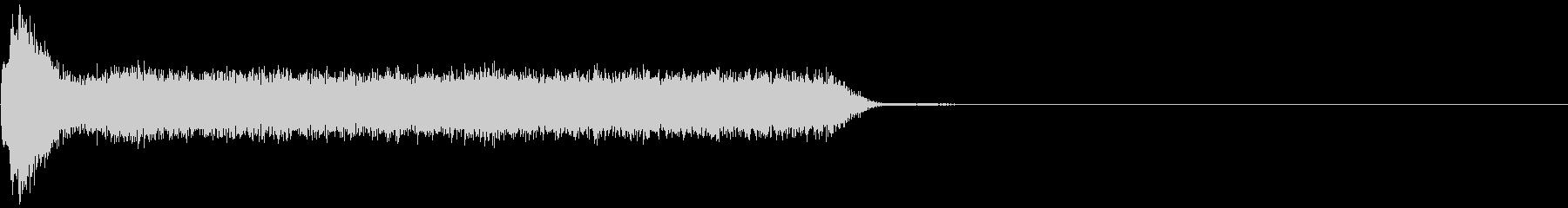 ビリビリ!電撃・感電の音!3ロングの未再生の波形
