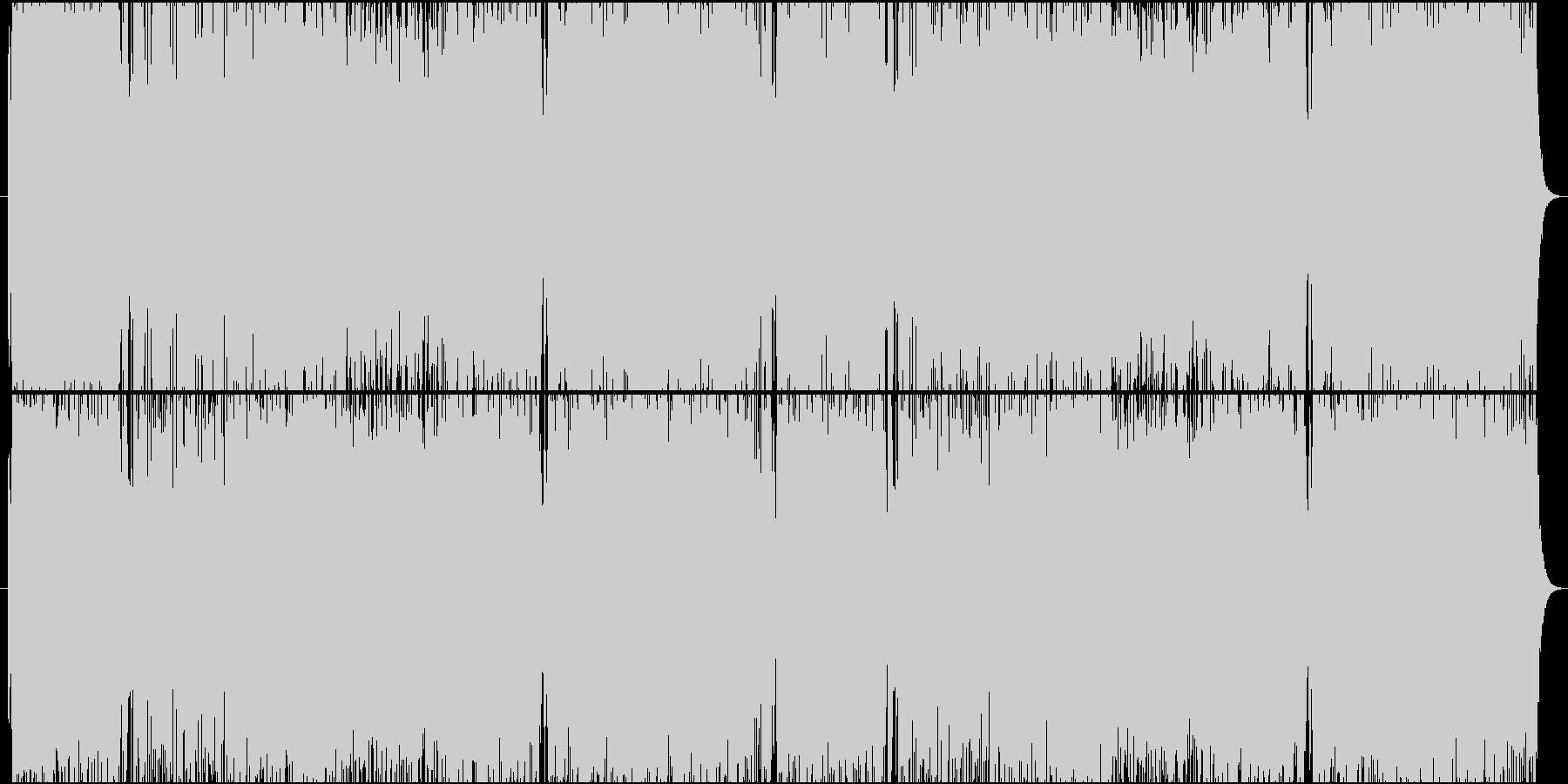 ヴァイオリンベースのロックな戦闘曲BGMの未再生の波形