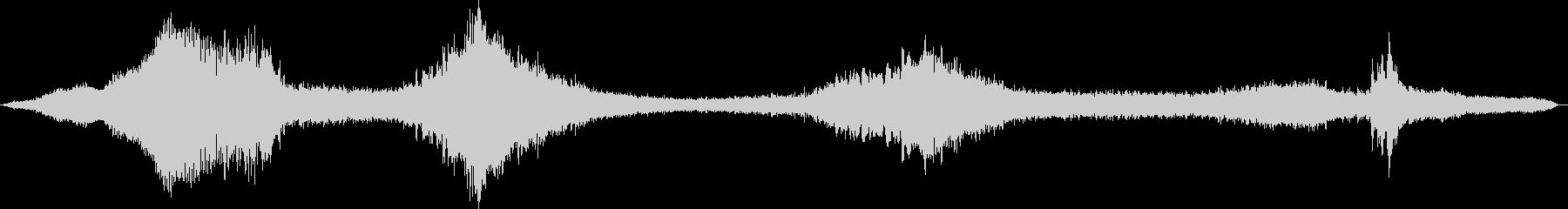 ヒューシュー音が少ない水のような効...の未再生の波形