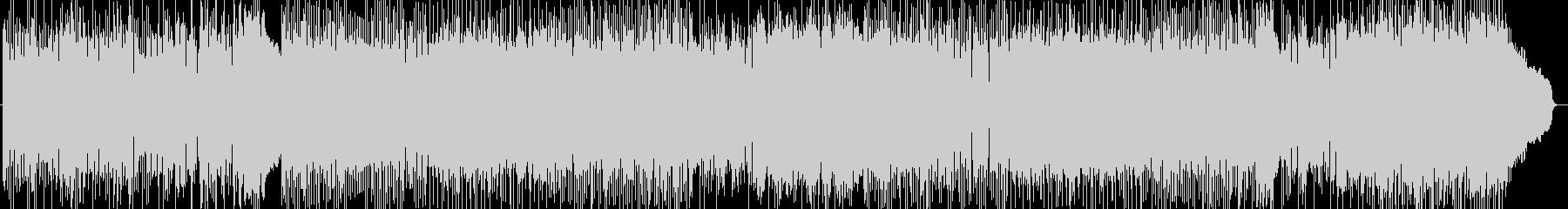 ダーク、ヘヴィメタル系の曲 BGM207の未再生の波形