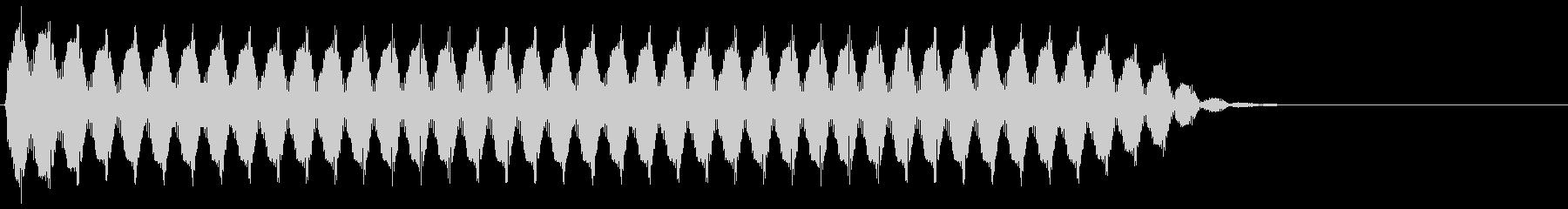 161 UFOの音の未再生の波形