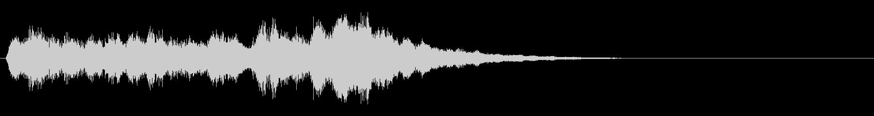 ベル音↑上昇フレーズ レベルアップなどの未再生の波形