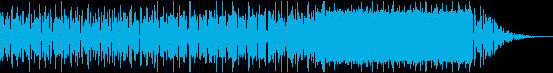 ちょっぴり切ないほのぼのインディロックの再生済みの波形