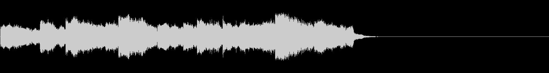 まぬけな脱力系導入音の未再生の波形