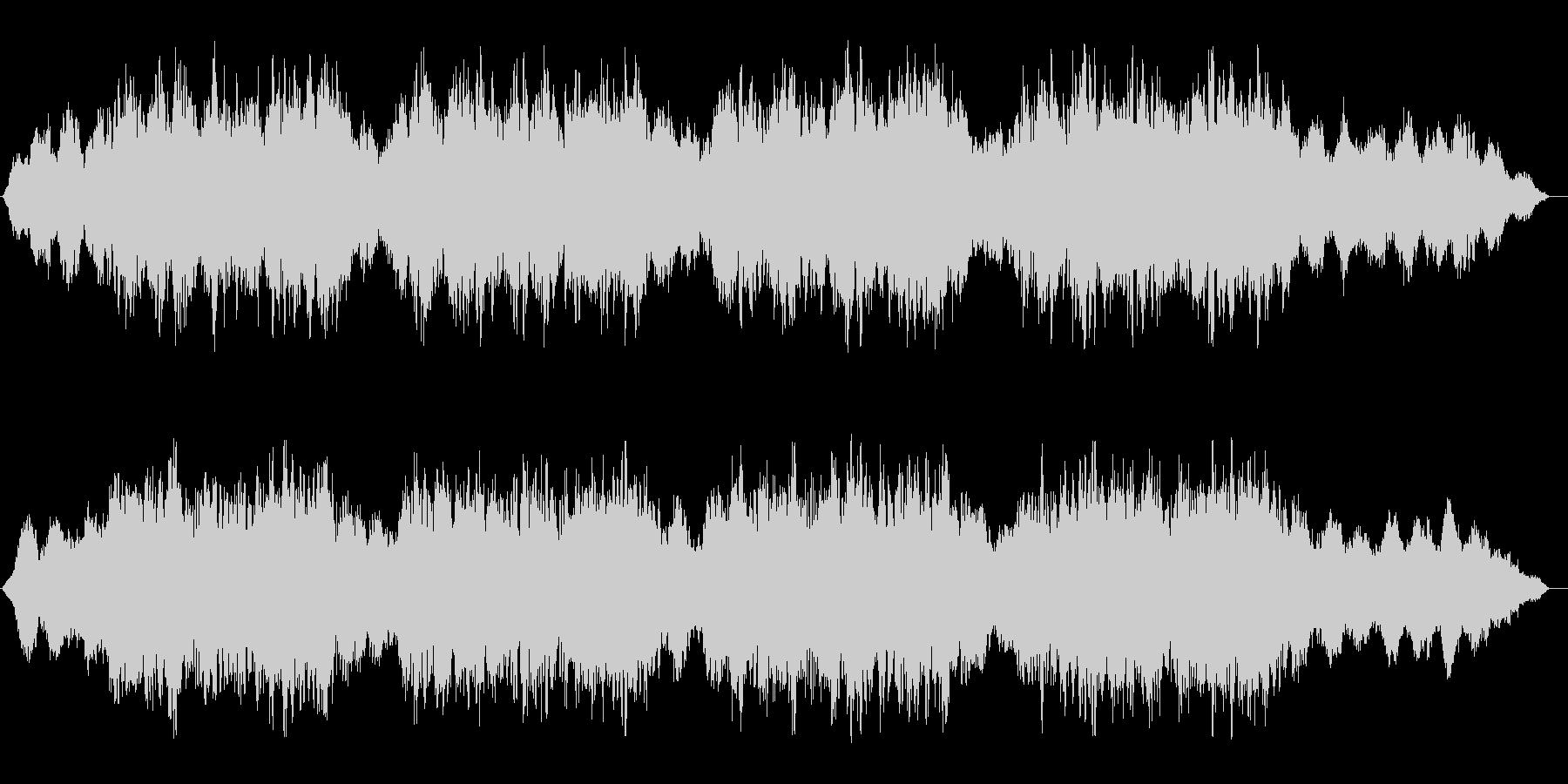 ホラー系BGM.01の未再生の波形
