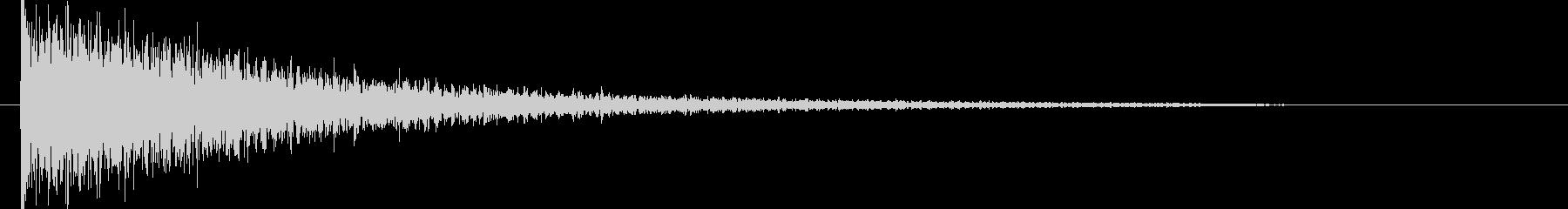 映画告知音69 ドーンの未再生の波形