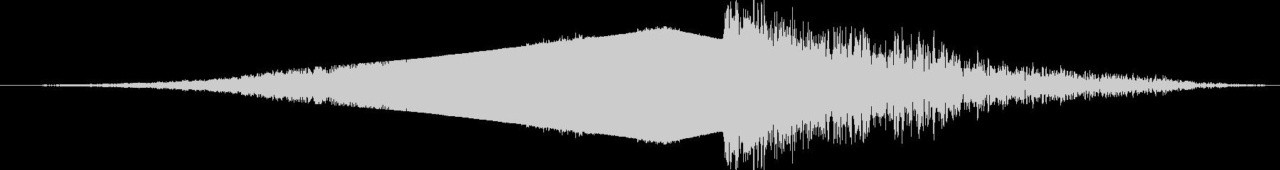 【映画】 シネマティック ライザー 09の未再生の波形