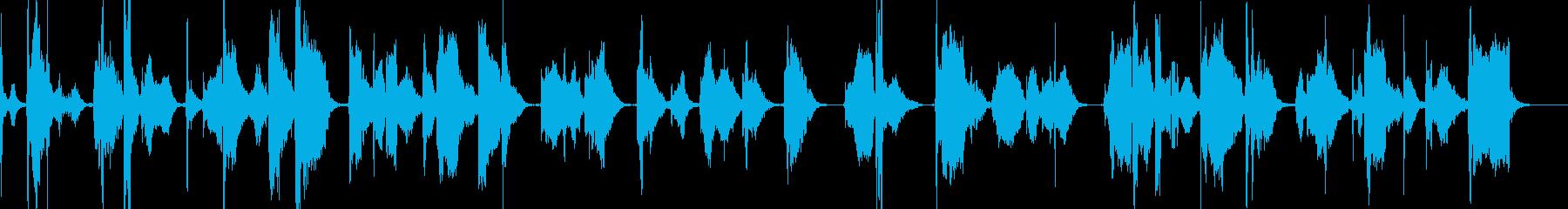 Wabizenの再生済みの波形