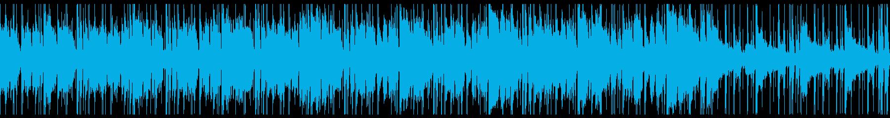 洗練・都会・大人お洒落な曲(ループの再生済みの波形