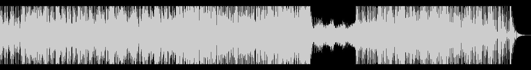 トリップホップ風の未再生の波形