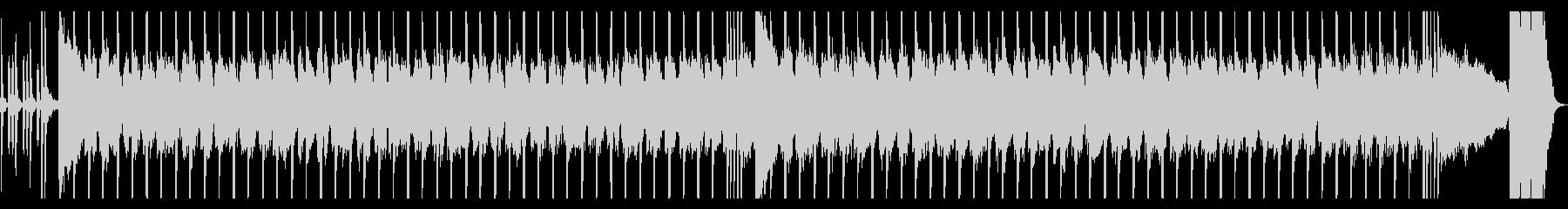 ロックギター、リフが繰り返されるBGM2の未再生の波形