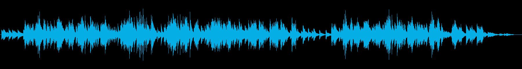 切なく退廃的なムードのピアノミュージックの再生済みの波形
