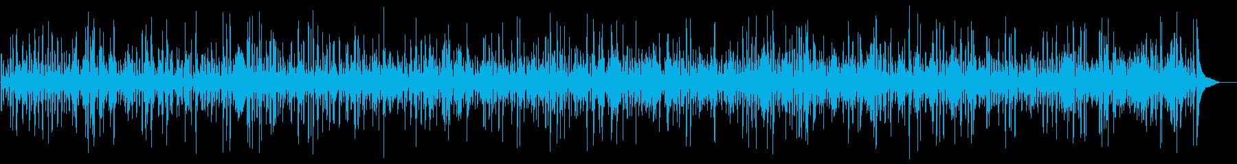 おしゃれでかっこいいアコーディオンジャズの再生済みの波形