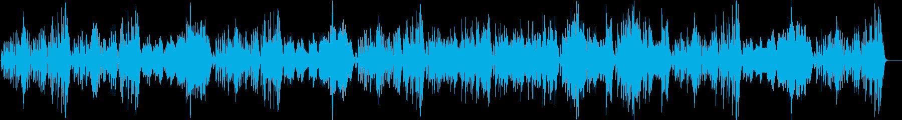 モーツァルトのメヌエットをヴァイオリンでの再生済みの波形