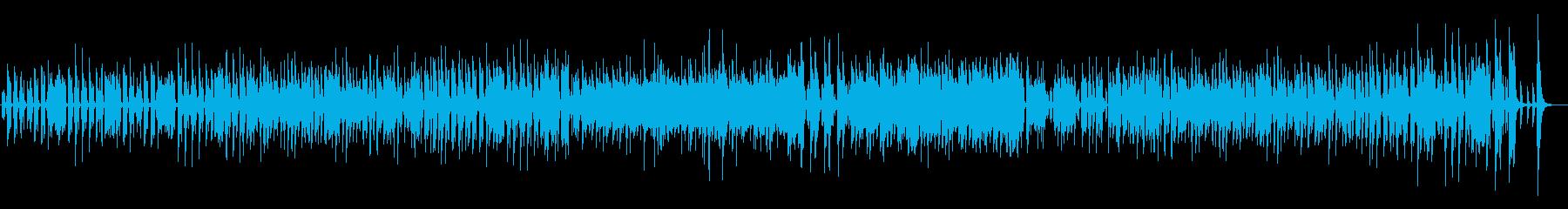口笛メインのご機嫌で軽快なジャズの再生済みの波形