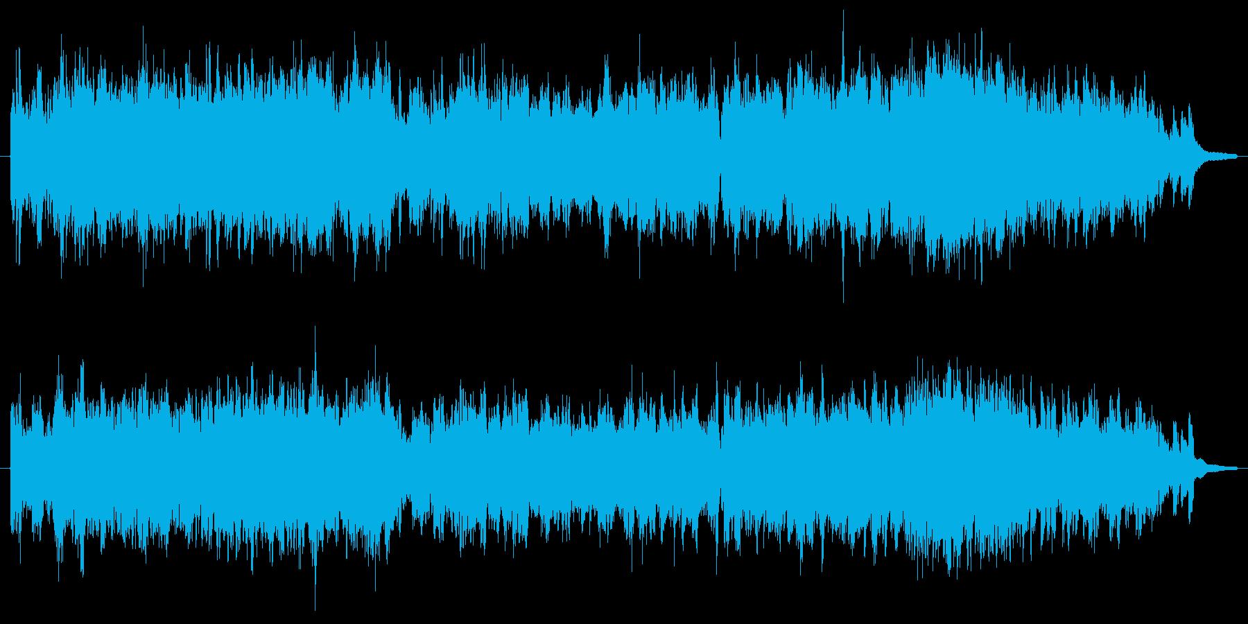 ブナ林~雄大な大自然~ゆったりの再生済みの波形