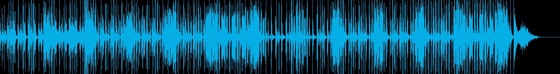 コメディやギャグに適したBGM bの再生済みの波形