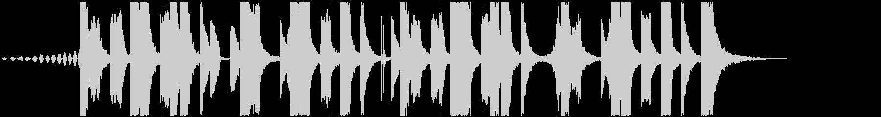 ジングル向けFuture Bass 2の未再生の波形