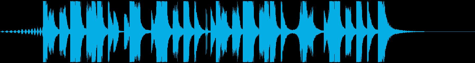 ジングル向けFuture Bass 2の再生済みの波形