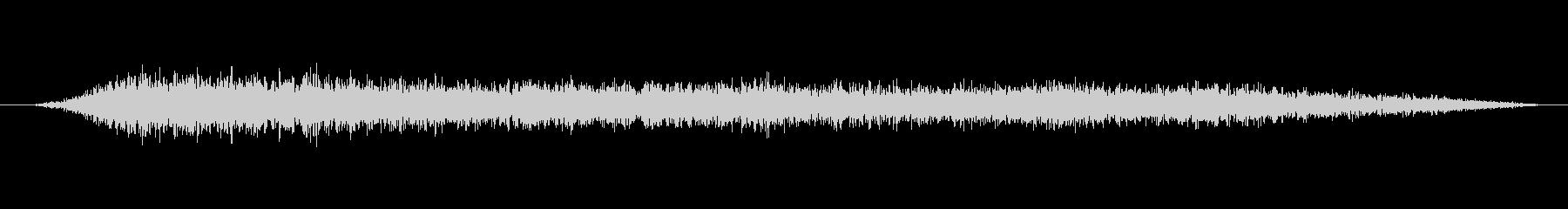 緊張 デーモン合唱団クラスターダウン03の未再生の波形