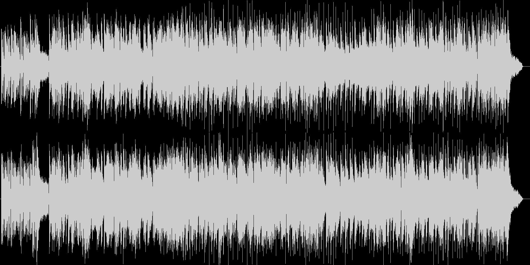 店舗BGM風シンセサイザー曲の未再生の波形