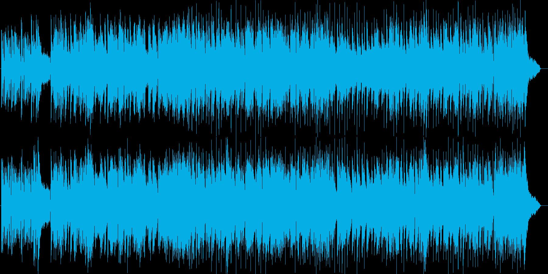 店舗BGM風シンセサイザー曲の再生済みの波形