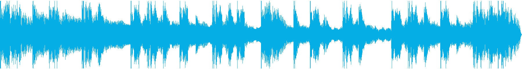 【エレクトロニカ】ロング3、ショート4の再生済みの波形