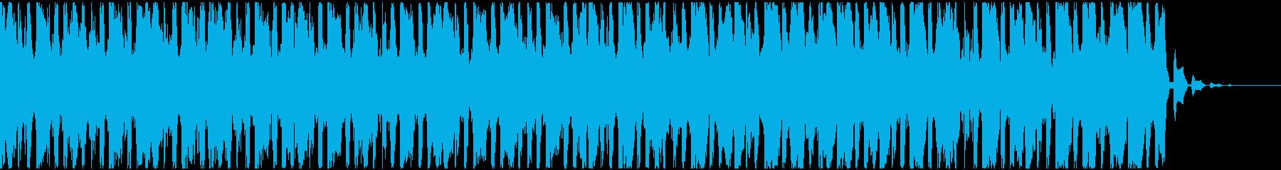 【EDM】トランス、ジングル2の再生済みの波形