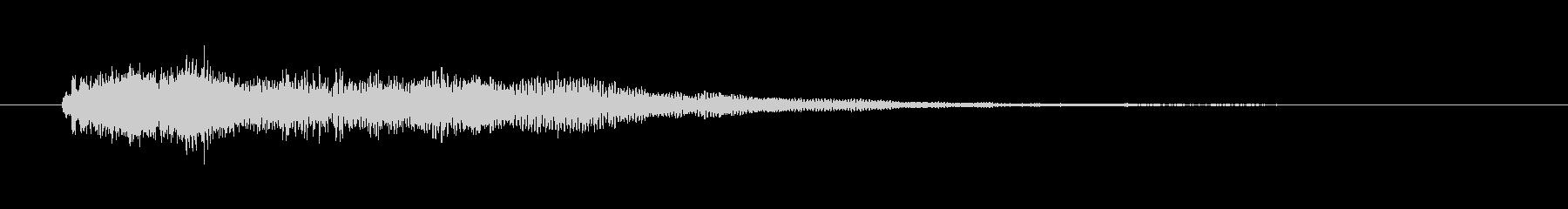 心霊現象・怪談用の効果音の未再生の波形