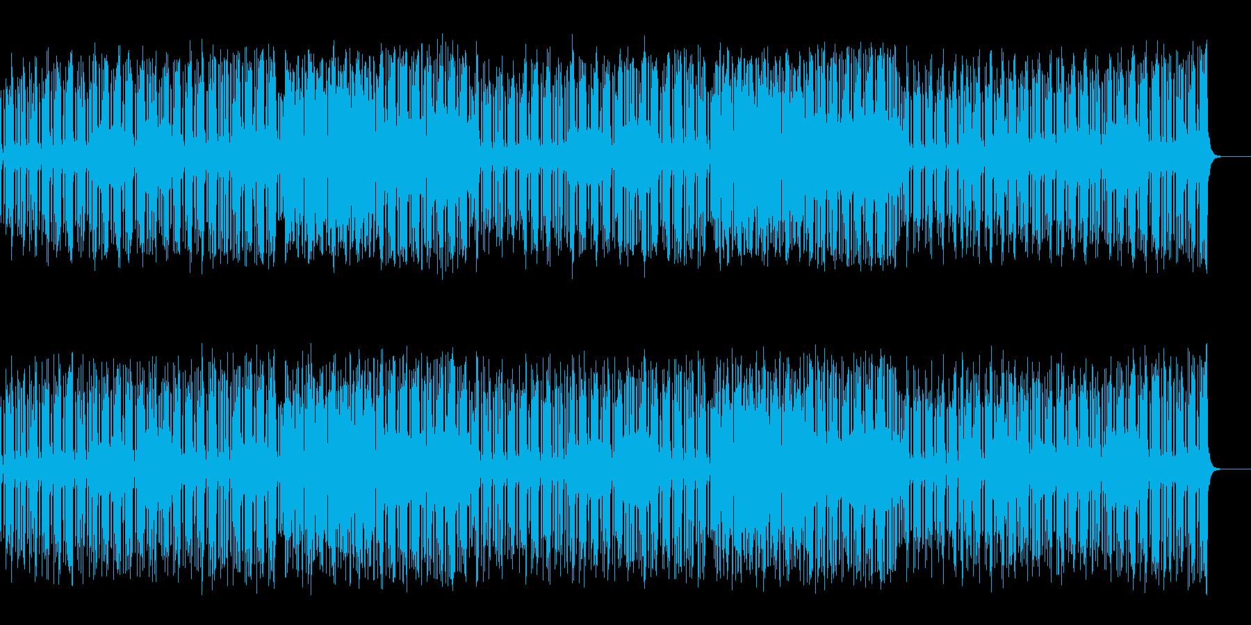 ホーン系のスカしたマイナー・フュージョンの再生済みの波形