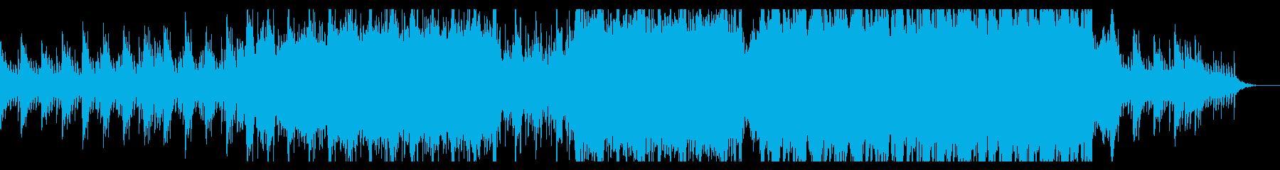 映画サントラ風・壮大なホラーハロウィンの再生済みの波形