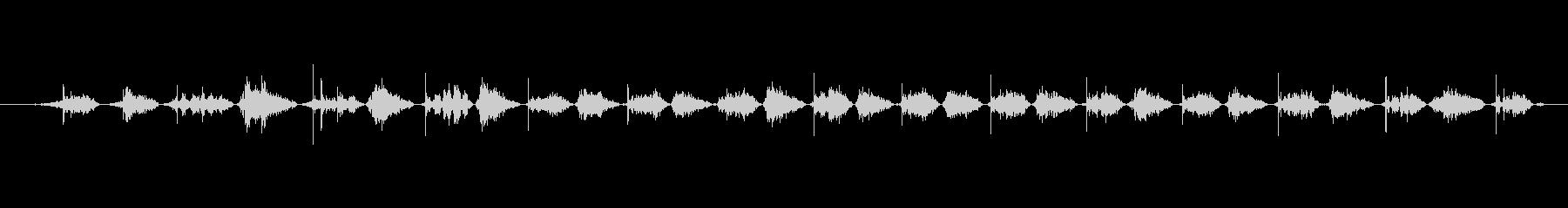 犬 パグパンツ02の未再生の波形
