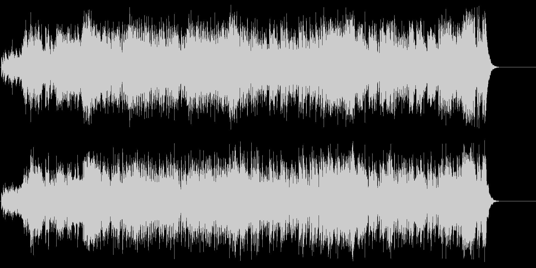 アメリカンフレーバーのストレートポップスの未再生の波形